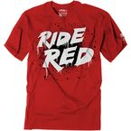 Youth Red Honda Splatter T-Shirt - 23-83304