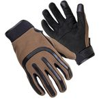 Brown Brodie Moto Styled Gloves - 8364-0114-07