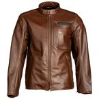 Sienna Brown Sixxer Leather Jacket - 5150-000-140-900