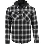 Black/Gray Tech Flannel - F09005500-140-001
