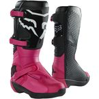 Women's Black/Pink Comp Boots - 27690-285-10