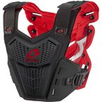 Black/Red F1 Roost Deflector - F120-BK-S/M