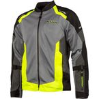 Hi-Vis/Monument Gray Induction Jacket - 5060-003-140-501