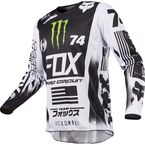 White/Black/Green 180 Monster/Pro Circuit SE Jersey - 20025-129-M