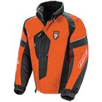 Orange/Black Storm Jacket - 1501-075