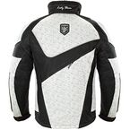 Women's White/Black Storm Jacket - 1503-104