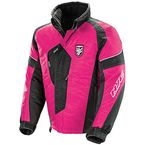 Women's Pink/Black Storm Jacket - 1503-184