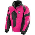 Youth Pink/Black Storm Jacket - 1505-183