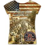 Women's Sturgis Main Street Photo T-Shirt - SPL1388-L
