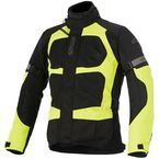 Black/Fluorescent Yellow Santa Fe Air Drystar Jacket - 3206416-155-L