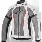 Women's Light Gray/Dark Gray Stella Amok Air Drystar Jacket - 3217716-922-M