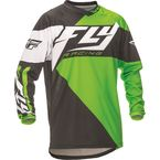 Youth Green/Black F-16 Jersey - 369-925YM