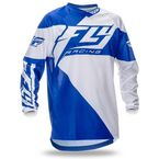 Youth Blue/White F-16 Jersey - 369-921YL