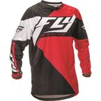 Youth Red/Black F-16 Jersey - 369-922YL