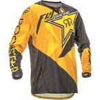 Black/Yellow Kinetic Rockstar Jersey - 369-663L