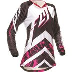 Women's Pink/White Kinetic Jersey - 369-624L