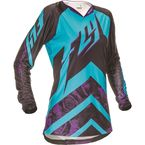 Women's Purple/Blue Kinetic Jersey - 369-628L