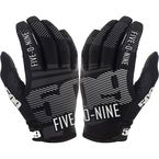 Black Low 5 Gloves - 509-GLOL5B-16-MD