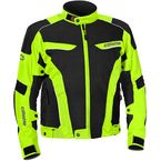 Hi-Viz/Black Max Air Jacket - 17-1536