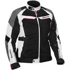 Women's White/Hot Pink Passion Air Jacket - 17-1898