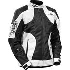 Women's White/Black Prism Jacket - 17-1246
