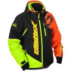 Orange/Hi-Vis Stance Jacket - 70-6158