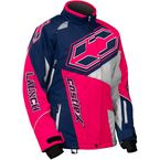 Women's Navy/Hot Pink Launch SE G4 Jacket - 71-1122