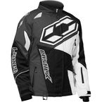 Women's Black/White Launch SE G4 Jacket - 71-1176