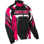 Women's Hot Pink/Black Bolt G4 Jacket - 71-1326