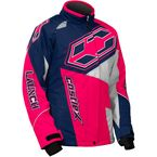 Youth Navy/Hot Pink Launch SE G4 Jacket - 72-5526