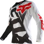 Black/White 360 Shiv Airline Jersey - 14958-018-L
