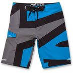 Bright Blue Strong Boardshorts - 103624003-76030