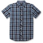 Harbor Blue Variance Short Sleeve Shirt - 101632000742S