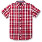 Red  Variance Short Sleeve Shirt - 1016320003000L