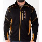 Black/Orange Elevation Tech Zip Up - 170909-1030-13