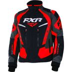Black/Red/Charcoal Team FX Jacket - 170019-1020-25