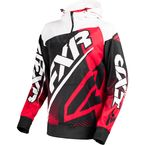 Black/Red/White Race Tech 1/4 Zip Hoody - 170926-1020-10