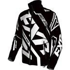 Black/White Cold Cross Race Ready Jacket - 170029-1001-16