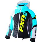Youth Black/White Weave/Blue Revo X Jacket - 170406-1040-10