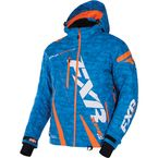 Blue Digi/Orange Boost Jacket - 170011-4130-10