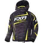 Child's Charcoal Cascade/Hi-Vis Helix Jacket - 170409-0865-02