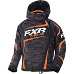 Child's Charcoal Cascade/Orange Helix Jacket - 170409-0830-02