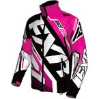 Fuchsia/Black/White Cold Cross Race Ready Jacket - 170029-9010-13