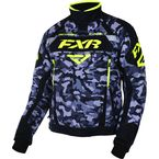 Gray Urban Camo/Black/Hi-Vis Octane Jacket - 170006-0665-10