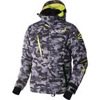 Gray Urban Camo/Hi-Vis Mission X Jacket - 170008-0665-22