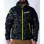Gray Urban Camo/Hi-Vis Renegade Soft Shell Jacket - 170927-0665-10