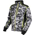 Gray Urban Camo/Hi-Vis Trekker Sherpa Tech Zip-Up - 170908-0665-19