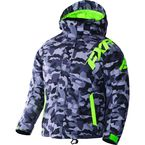 Child's Gray Urban Camo/Lime Squadron Jacket - 170407-0670-02