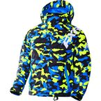 Child's Hi-Vis/Blue Urban Camo Squadron Jacket - 170407-6541-02