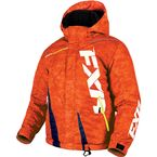 Youth Orange Digi/Navy Boost Jacket - 170404-3165-10